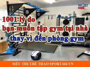 1001 lý do bạn muốn tập gym tại nhà thay vì đến phòng gym