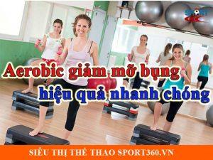 Aerobic giảm mỡ bụng hiệu quả nhanh chóng