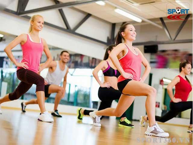 Aerobic giúp đốt cháy lượng calo tối đa trong cơ thể