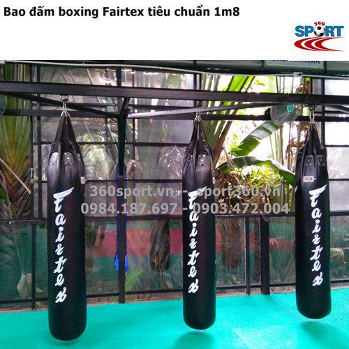 Bao cát boxing Fairtex thái lan 1m8