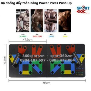 Bộ hít đất đa năng Power Press Push Up