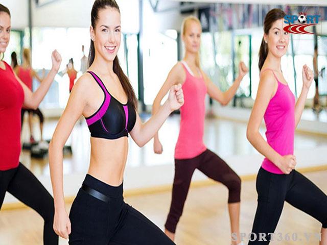 Aerobic giúp giảm mỡ toàn thân