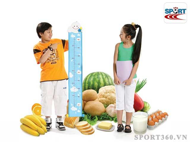 Chế độ dinh dưỡng tốt sẽ giúp tăng chiều cao nhanh chóng