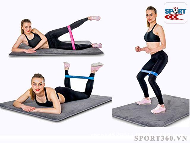 Dây kháng lực tập gym phụ kiện đắc lực trong bài tập gym