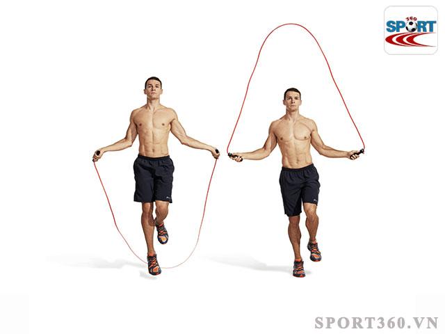 Dây nhảy thể dục phụ kiện hỗ trợ hiệu quả trong tăng sức bền