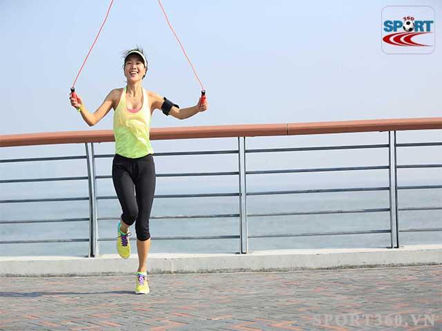 Không phải cứ nhảy dây là giảm được cân