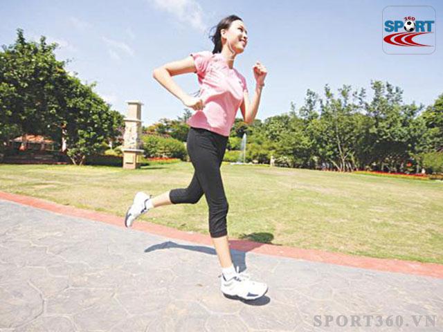Chạy bộ giúp giảm mỡ bụng nhanh chóng