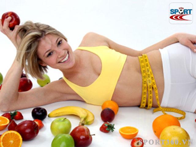 Thực hiện chế độ ăn kiêng giảm mỡ bụng