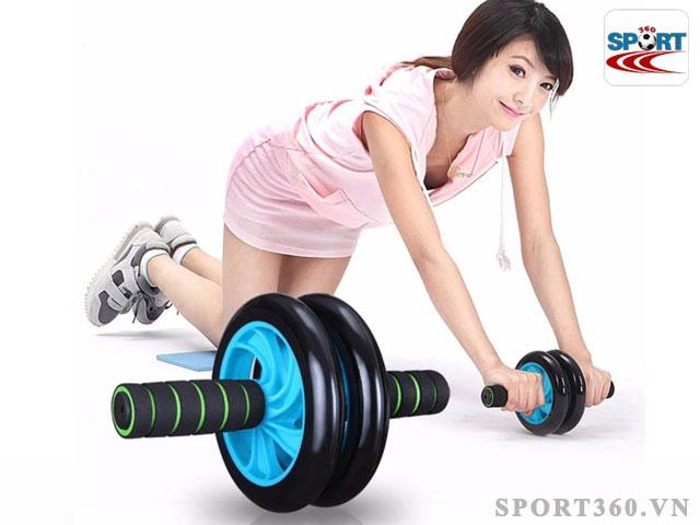 Máy tập bụng, con lăn tập cơ bụng - Cách giảm mỡ bụng hiệu quả