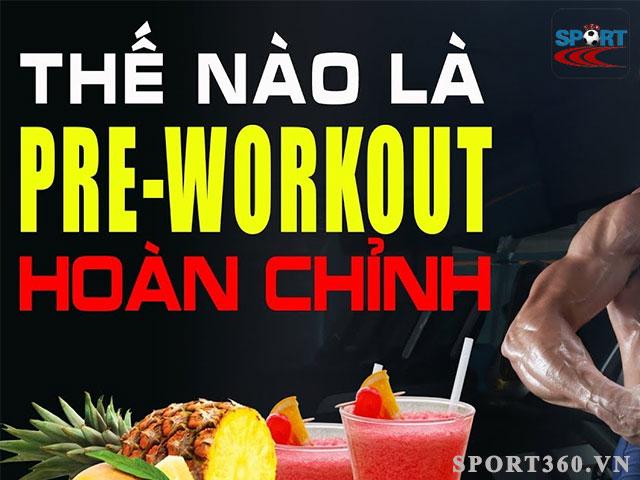 Không nên sử dụng Pre workout trong tình trạng đói
