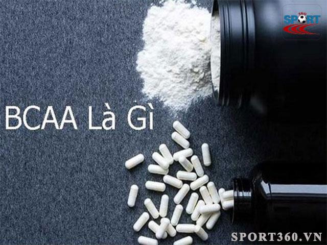BCAA là 1 dạng thực phẩm bổ sung cho gymer