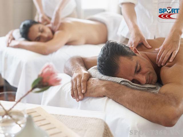 Xông hơi và massage thư giãn