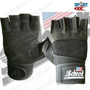 Găng tay tập Gym SCHIEK cao cấp SP20 đen