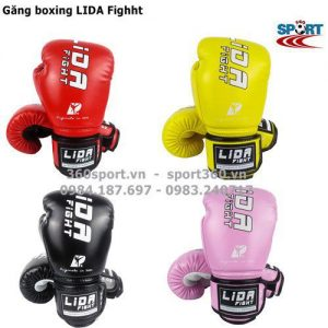 Găng tay boxing LIDA Fighht cao cấp