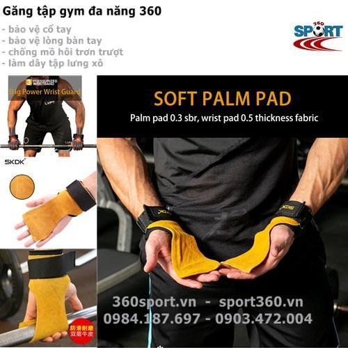 Găng tay tập gym đa năng 360