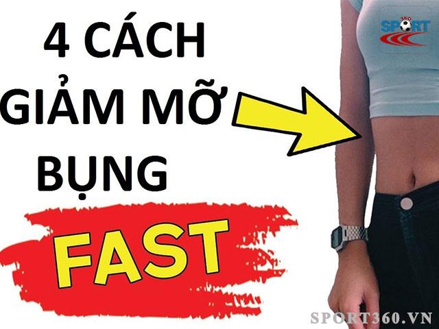 Có rất nhiều cách giảm mỡ bụng mà bạn có thể áp dụng hiện nay