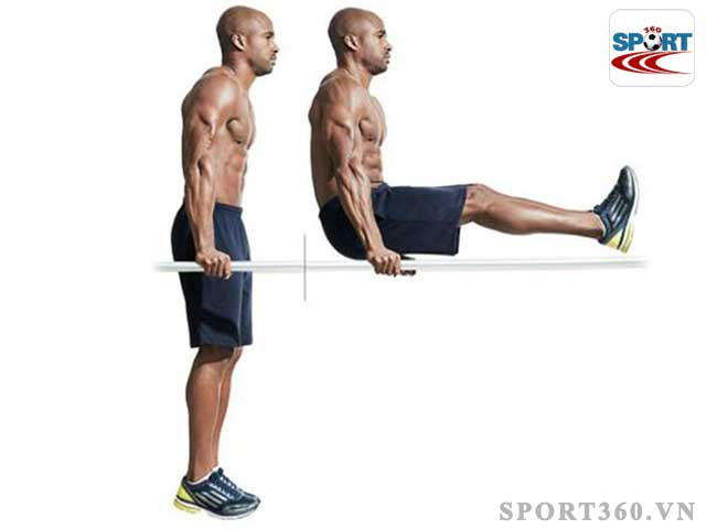 Bài tập văng người tăng cường cơ tay và cơ vai cho người tập