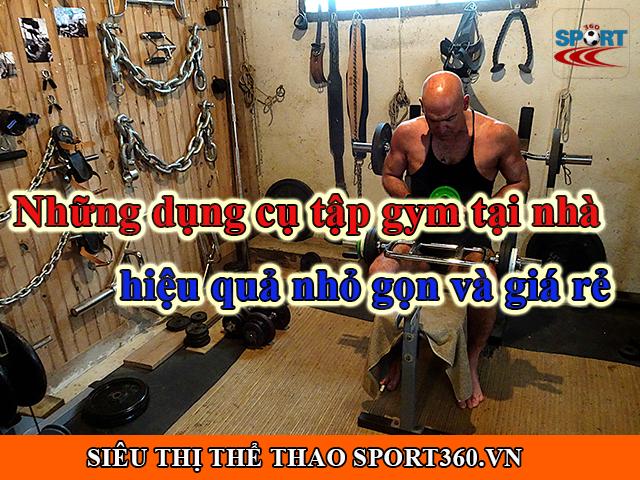 Những dụng cụ tập gym tại nhà hiệu quả nhỏ gọn và giá rẻ