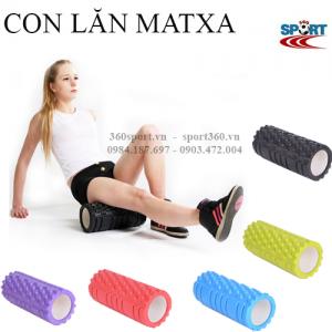 Ống lăn matxa yoga foam roller phòng gym