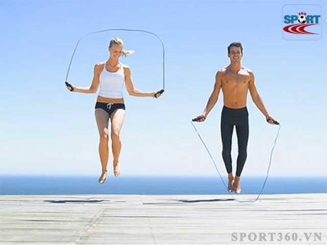 Nhảy dây giúp tinh thần sảng khoái
