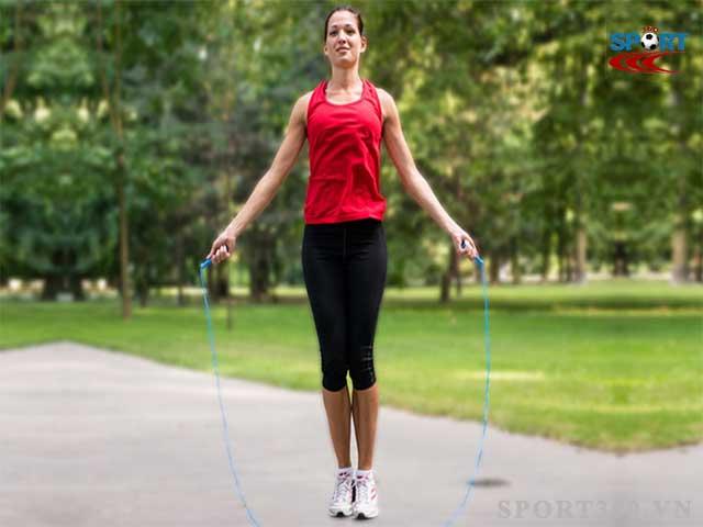 Nhảy dây giúp tăng sức bền