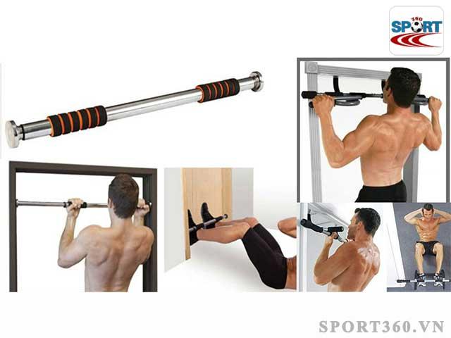 Tăng cơ bắp ở nam giới với các bài tập luyện cùng xà