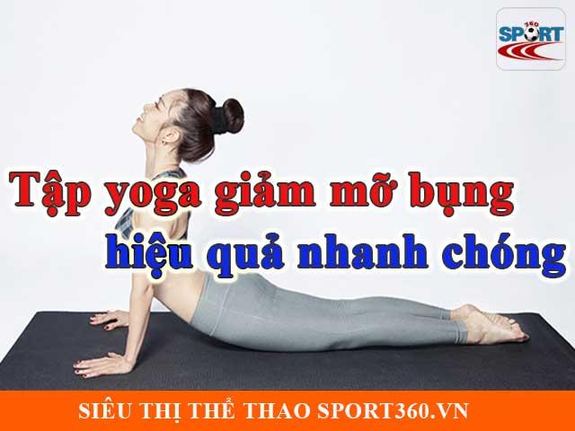 Tập yoga giảm mỡ bụng tuyệt vời