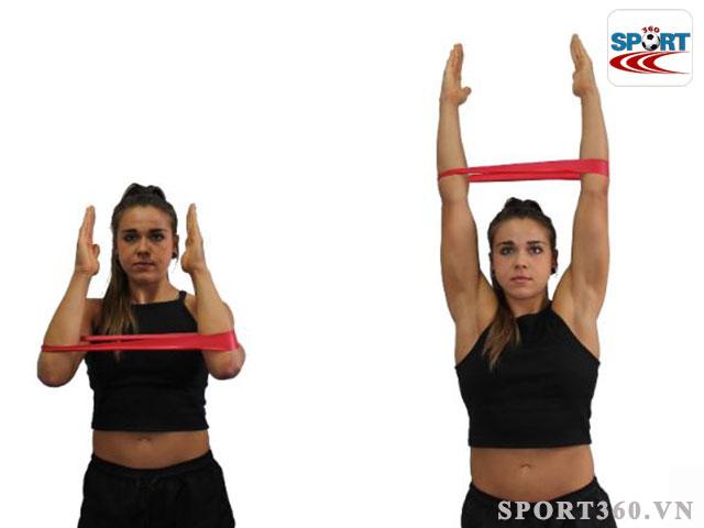 Bài tập cơ tay, vai Pulldown đơn giản