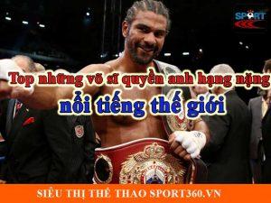 Top những võ sĩ quyền anh hạng nặng nổi tiếng thế giới