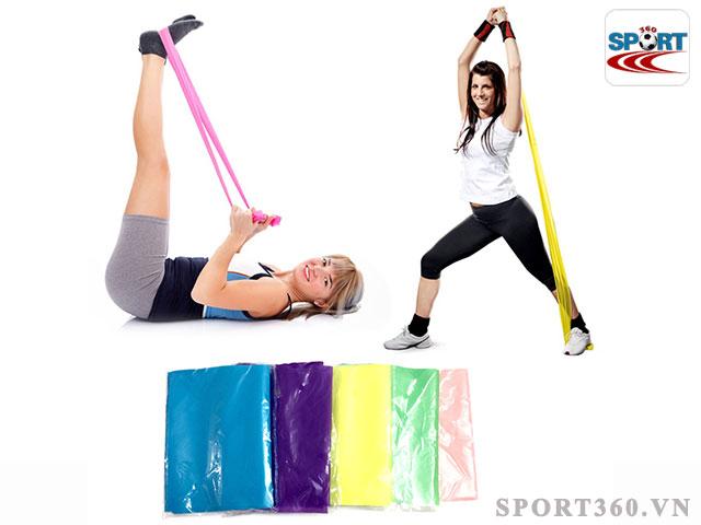 Tập Gym bằng dây kháng lực giúp đảm bảo an toàn tuyệt đối trong quá trình luyện tập
