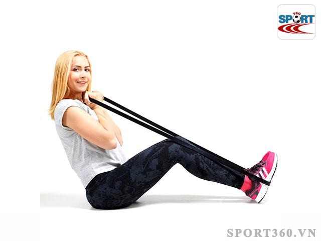 Dây tập Gym đàn hồi có thể thay đổi linh hoạt và sinh ra lực kháng đối với người tập Gym