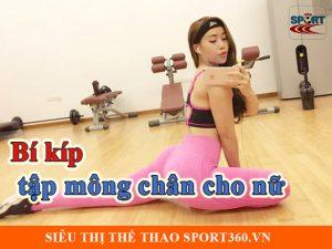 Bí kíp tập mông chân hiệu quả cho nữ - sport360.vn