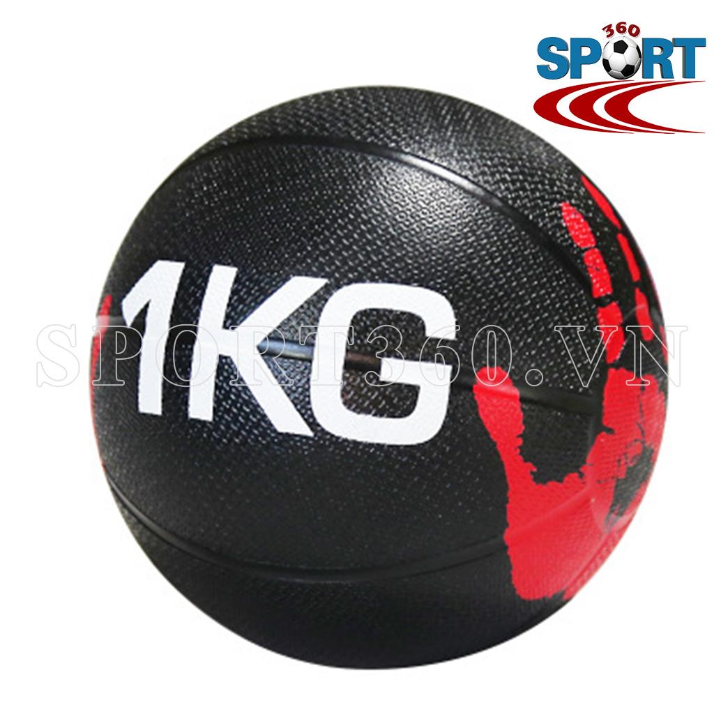 Bóng tạ thể lực medicine ball tập gym nặng 1kg