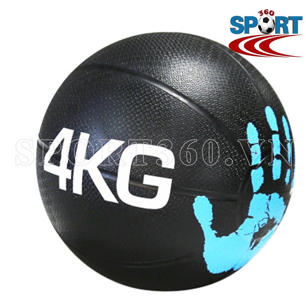 Bóng tạ thể lực medicine ball tập gym nặng 4kg