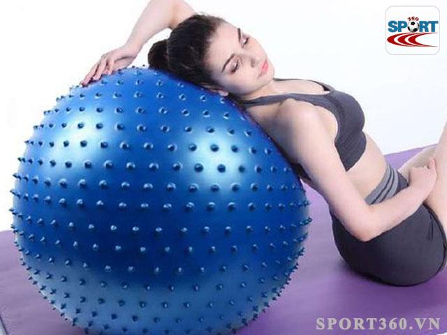 Bóng yoga tròn có gai