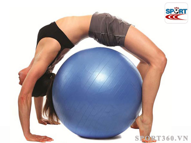 Bóng yoga trơn tròn