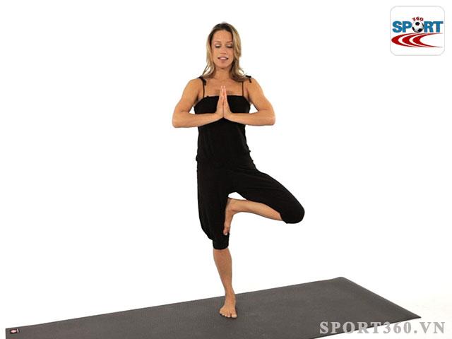 tư thế tập yoga Tree Pose