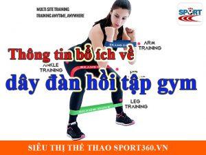 Thông tin bổ ích về dây đàn hồi tập gym cho người mới bắt đầu