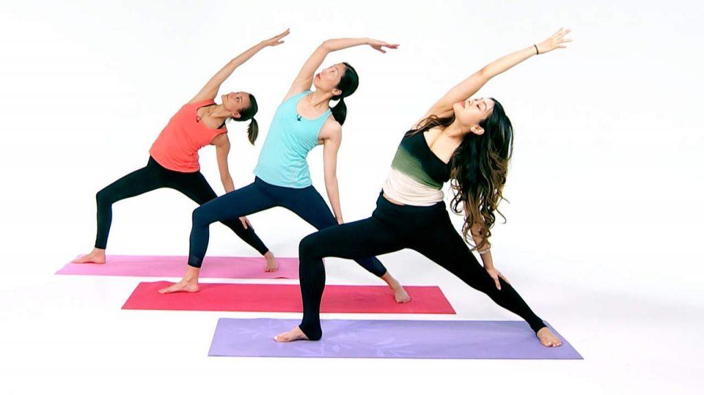 Phái nữ chọn yoga để có vóc dáng đẹp