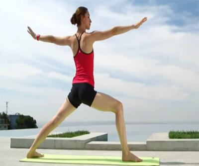 bài tập yoga giảm cân tư thế cân bằng 4