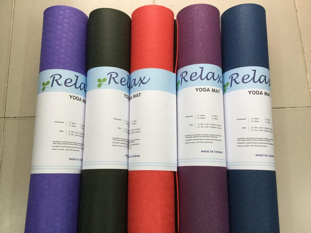 thảm yoga PVC