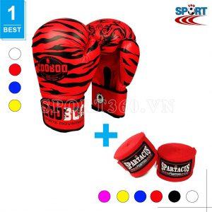 [COMBO-02] Bao tay boxing Zooboo + Băng quấn tay Spatacus