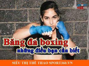 Băng đa boxing và những điều bạn cần biết