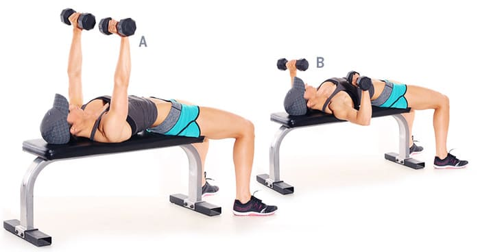 Bài tập Dumbbell Bench Press