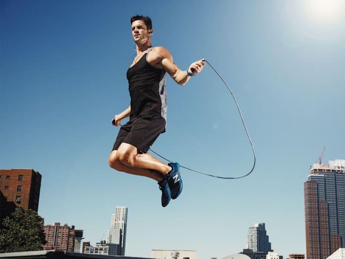 Nhảy dây giúp tiêu thụ mỡ thừa hiệu quả